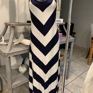 GAP Dresses - 2 striped dress blue and yellow